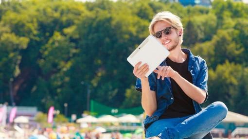 Das e-Paper im Urlaub